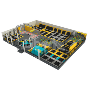 Customized Large Indoor Trampoline Park Manufacturer