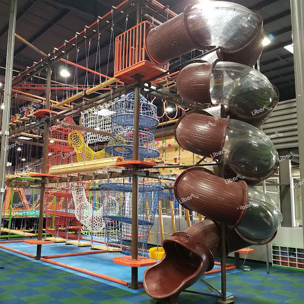 Indoor Children's Ropes Course Advantages Are More Profitable, Helping Children Grow Up Healthy