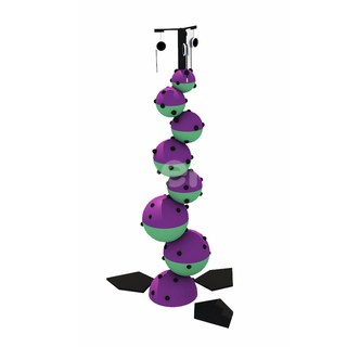 Ball Shape Kids Climbing Wall
