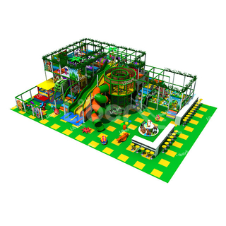 Liben Hot Children Indoor Soft Play Area with Wavy Slide
