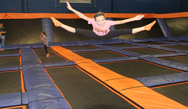 Benefits of trampoline park