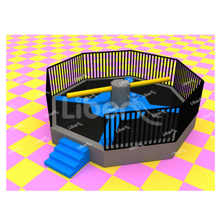 Popular Kids Small Indoor Playground Equipment Wipe Out