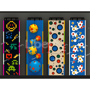 Custom Height Multi-type Indoor Art Climbing Wall