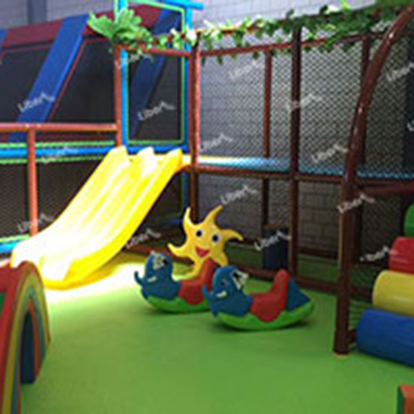 8000 Square Meters Of Indoor Playground, Everyone Can Come And Play!